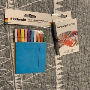 Polaroid Frames & Border Stickers